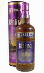 Виски Бенриах Дак Ром 15 лет / BenRiach Dark Rum 15 YO