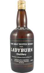 Виски Ледиберн 1966 20 лет / Ladyburn 1966 20 YO (closed)